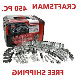 NEW Craftsman 450PC Mechanics Tool Set with 3 Drawer Tool Ch