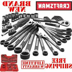 New CRAFTSMAN 56pc PIECE Universal Mechanics TOOL SET Metric