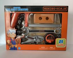 NEW! BLACK+DECKER Junior Starter Tool Set  UNOPENED!