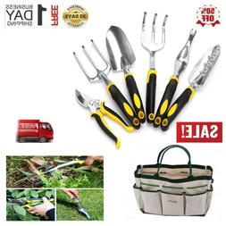 New Garden Hand Tools 7 Piece Set Stainless Steel Heavy Duty
