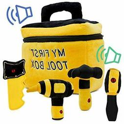 NEW Item Toy Tool Set For Boys Includes Cuddly Hammer, Hands