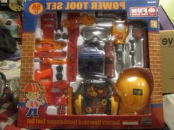NEW! HARBOR FREIGHT TOOLS, 56 PIECE SET FUN FOR KIDS POWER T