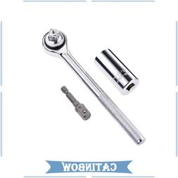 NEW Universal Socket Wrench Power Drill Adapter 3 Piece Repa