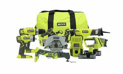 Ryobi P884 One+ Combination Lithium Ion Cordless Power 18V 6