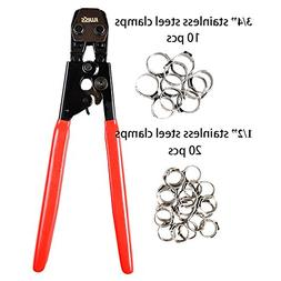 IWISS PEX Clamp Cinch Tool Crimping Tool Crimper for Stainle