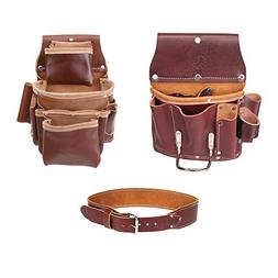 Occidental Leather 5062 4 Pocket Pro Fastener Bag Bundle w/
