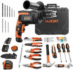 TACKLIFE Power Tools Combo Kit, Hammer Drill 800W & Home Too