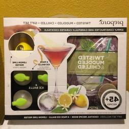 Prepara Kitchen Tools Twisted Muddled Chilled Cocktail Gift