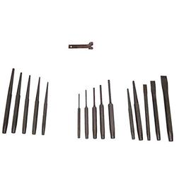 32 PC PUNCH AND CHISEL Taper Cold Chisel Center Pin Auto Too