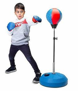 Tech Tools Punching Bag for Kids Boxing Set with Stand,Boxin