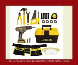 Quality Tool Set  for kids with Battery Operated Drill& Tool