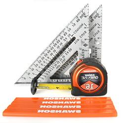 Swanson Tool S0101SPT 2-Speed Square 1-16-Feet Savage Grip L