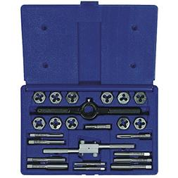 IRWIN 24-Piece SAE Tap and Die Set Carbon Steel Silver Tools