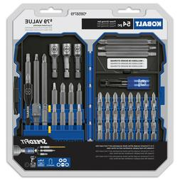 Kobalt 54-Piece Screwdriver Bit Set