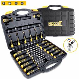 Screwdriver Set, Magnetic 20-Piece Screwdriver Tool Set with