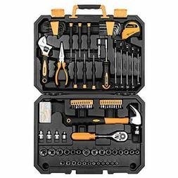 DEKOPRO 128 Pieces Tool Set--General Household Hand Tool Kit