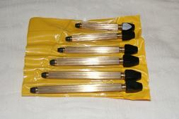 SET OF 6 BRASS PIN VISES NEW WATCH / CLOCK PARTS / TOOLS