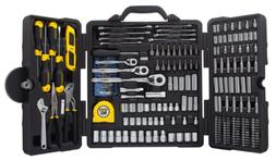 STANLEY Mixed Tool Set 210-Piece Mechanics Socket Wrench Spi