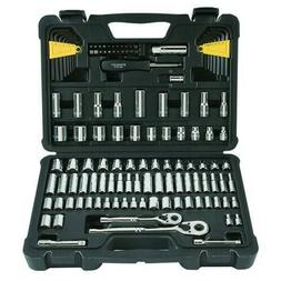 Stanley STMT71652 123-Piece Mechanics Tool Set Chrome Socket