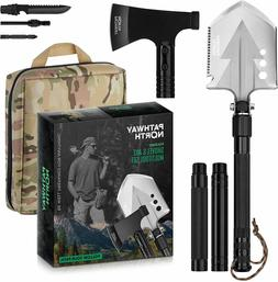 Survival Kit Camping Shovel Axe Set Outdoor Garden Military