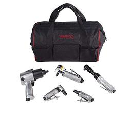 Sunex SX231PBAGPR Air Tool Kit with Gatemouth Bag, 5-Piece