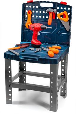 Toddler Boy Toy Tool Set Box Workbench Construction Play Kid