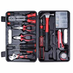 Cartman Tool Set 160pcs, General Household Hand Tool Kit wit