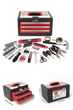 Tool Set Hyper Tough 86-Piece All-Purpose Hand Tools Set For