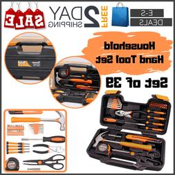 Eses Tool Set For Women & Men 39 Pieces Household Hand Tool