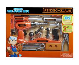 tool set play kid powered drill entertaining
