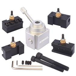 Jinwen Tooling Package Mini Lathe Quick Change Tool Post & H