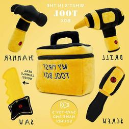 Toy Tool Set Cuddly Hammer Handsaw Screwdriver Hand Drill To