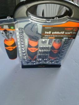 **W39000 Tool Sets 45 Piece Stubby - Socket Wrenches And Scr