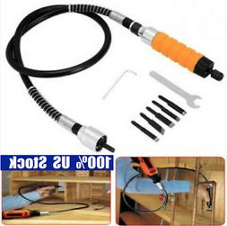 Wood Chisel Carving Knives Wrench Flexible Electric Drill Sh