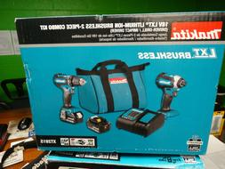Makita XT281S 18V LXT Lithium Ion Brushless Cordless Power T