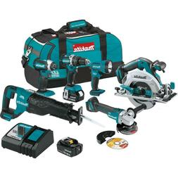 Makita XT612M 18V LXT Lithium-Ion Brushless Cordless 6-Pc. C